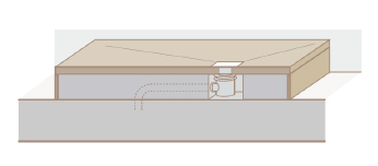 Instalación plato de ducha en altura