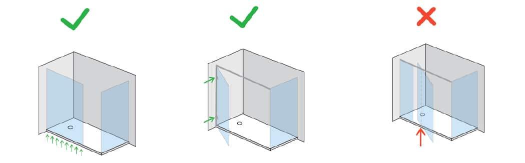 preguntas frecuentes instalación de mamparas sobre el plato de ducha