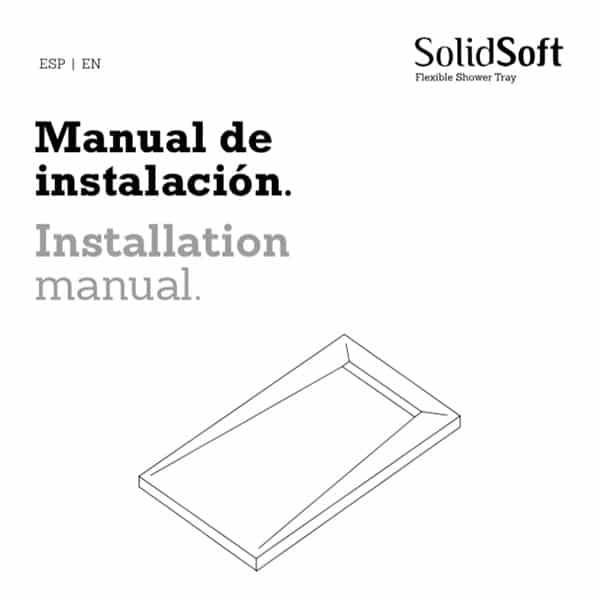 Descarga los manuales de instalación de platos de ducha