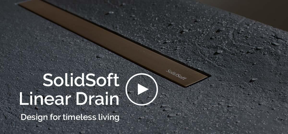 Demostración plato de ducha flexible linear drain